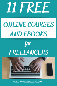 11 free online courses and ebooks for freelancers