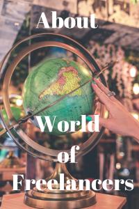 About World of Freelancers Pinterest image