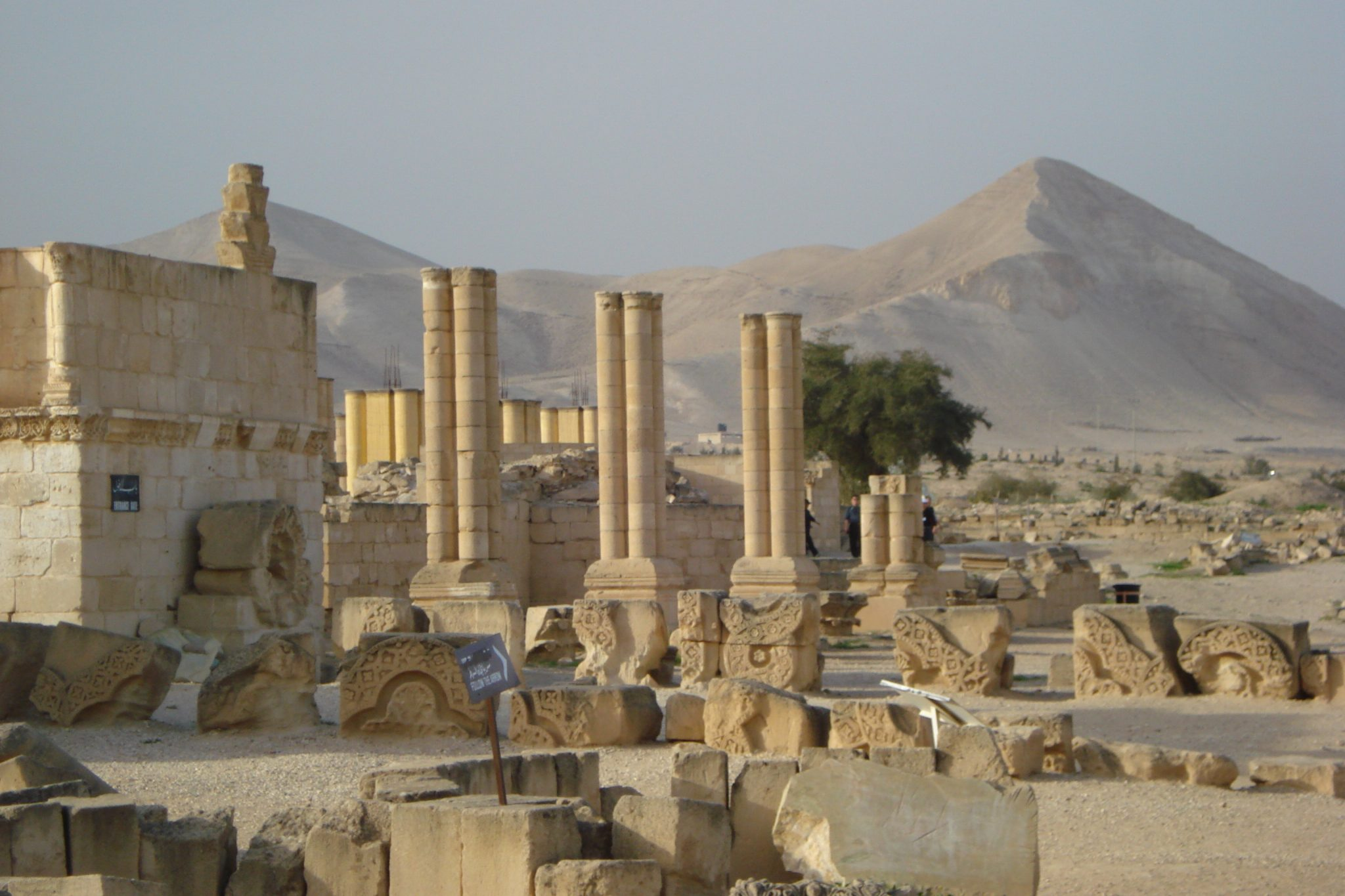 Beit She'an ruins which you should see when you're traveling to Israel