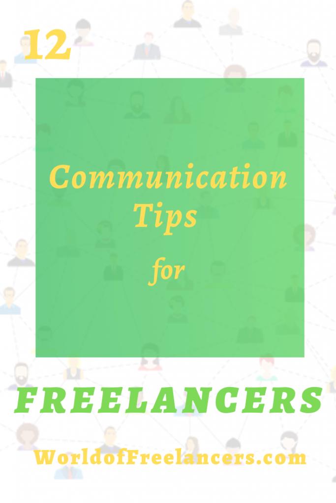 12 communication tips for freelancers