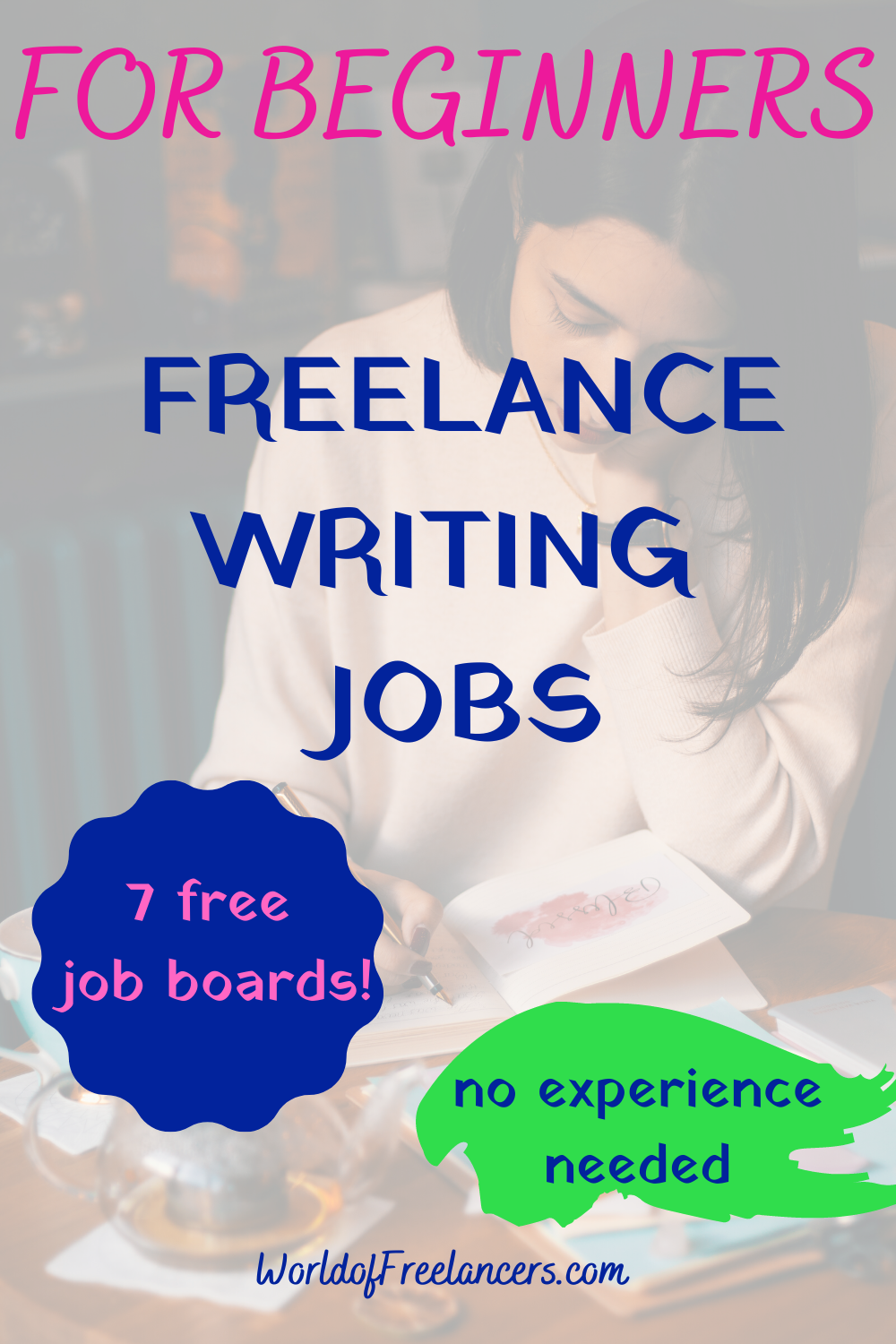 For Beginners - Freelance Writing Jobs - no experience needed