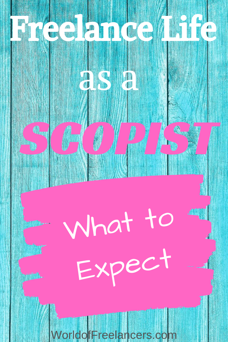 Freelance life as a scopist - what to expect