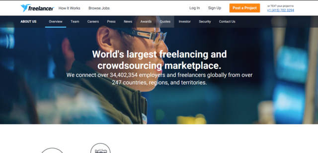 Freelancer.com is one of the best job search websites to find Australia and New Zealand online jobs