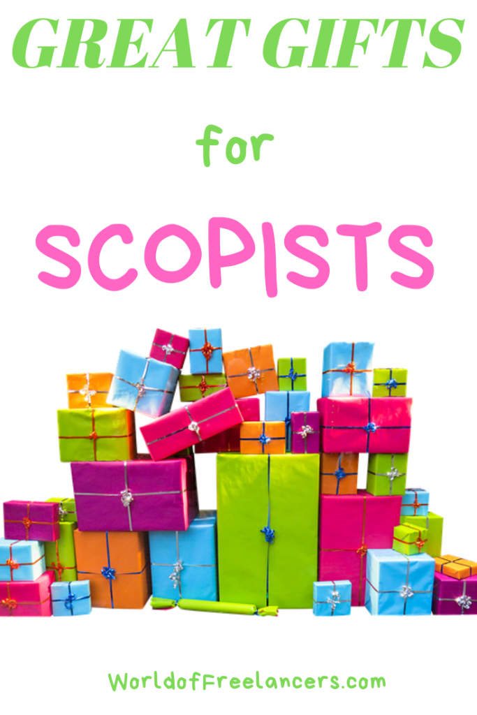 Great Gifts for Scopists by World of Freelancers