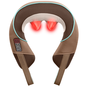 Homedics Shiatsu Plus shoulder and neck heated massager is one of the best gifts for freelancers