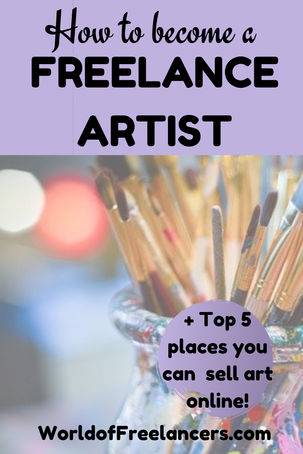 How to become a freelance artist - plus the top 5 places you can sell art online