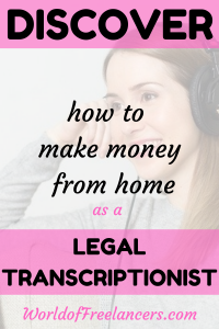 Discover how to make money from home as a legal transcriptionist