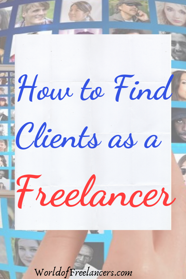 How to find clients as a freelancer