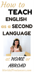 How to teach English as a second language at home or abroad
