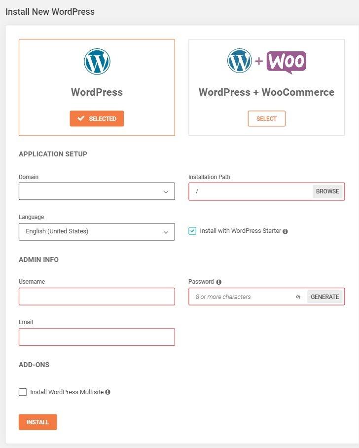 Install new WordPress site on SiteGround so you can start freelance blogging on WordPress