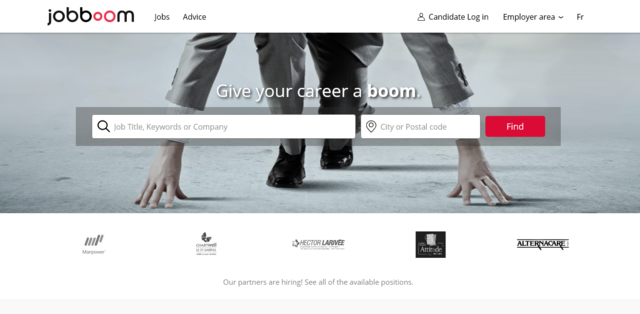 Jobboom is one of the best job search websites in Canada
