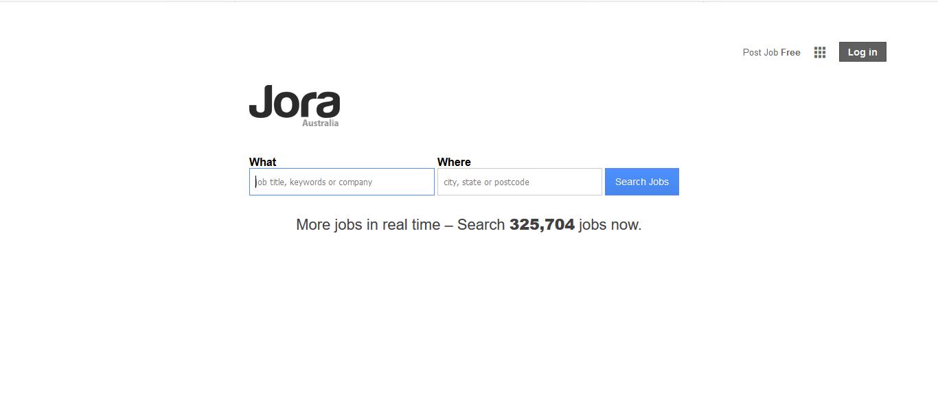 Jora is the best job search engine for Australia freelancers