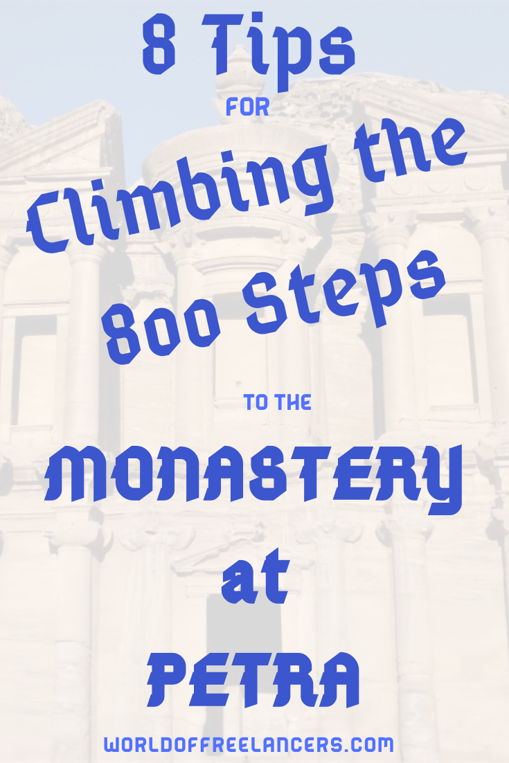 8 Tips for Climbing the 800 Steps to the Petra Monastery
