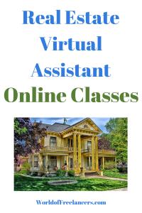 Real Estate Virtual Assistant Online Classes