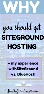 Why you should get SiteGround Hosting plus my experience with SiteGround vs. BlueHost