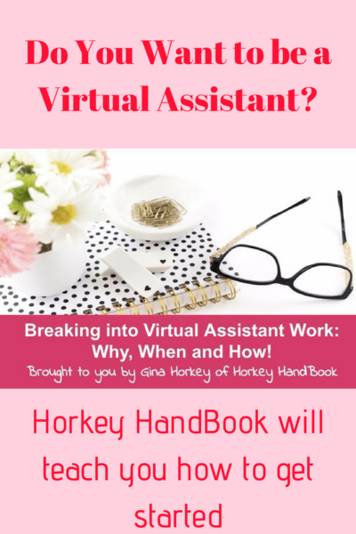 Horkey Handbook Virtual Assistant Webinar