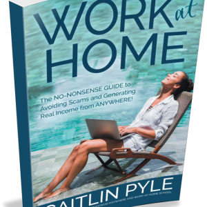 Work at Home book by Caitlin Pyle is one of the best gifts for freelancers