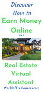 Discover how to earn money online as a real estate virtual assistant